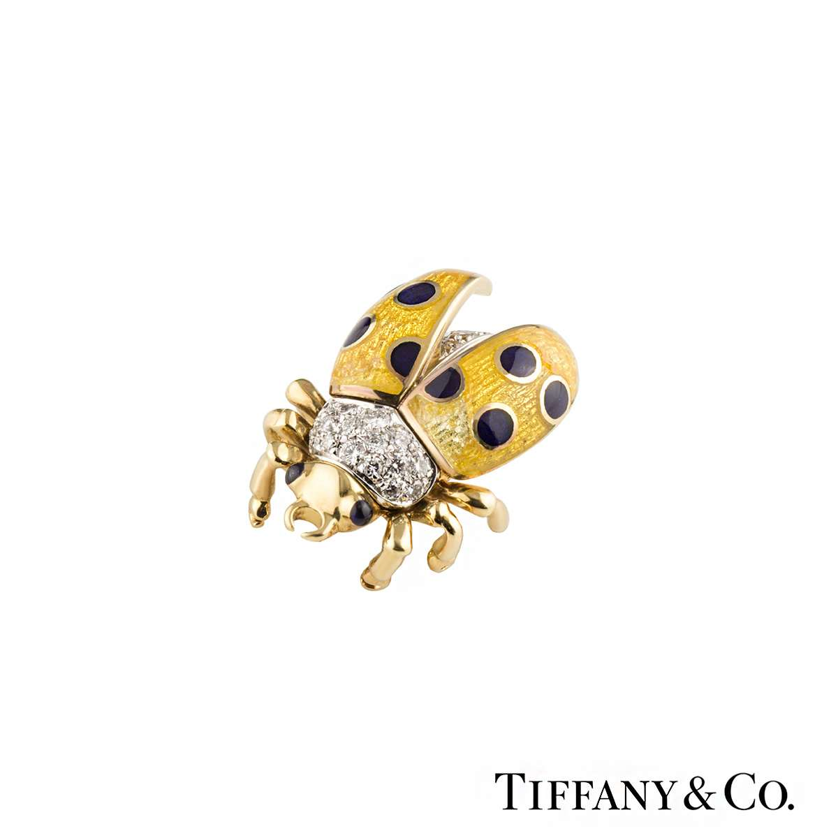 Tiffany & Co. Ladybird Diamond Brooch